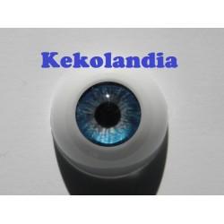 Ojos- Azul Zafiro -18mm