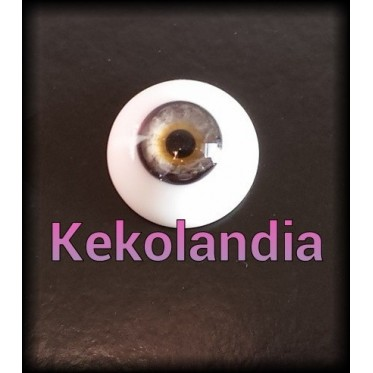Glass Eyes-Antique Gray-16mm