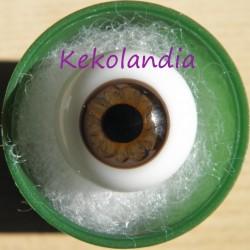 Ojos cristal bola Iris Normal - Avellana