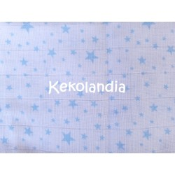 Gasa Bebé - Estrella - Azul