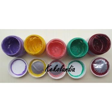 Tarritos reutilizables colores sorpresa