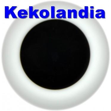 Ojos Cristal Bola  - Castaño Muy Oscuro