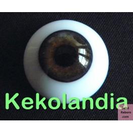 Ojos Cristal - Avellana-16mm