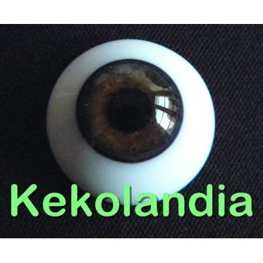 Ojos Cristal - Avellana-20mm