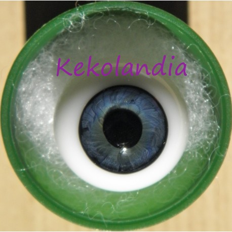 Glass Eyes Ball - Dark Blue
