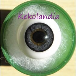Ojos cristal bola Iris Normal - Negro Azulado