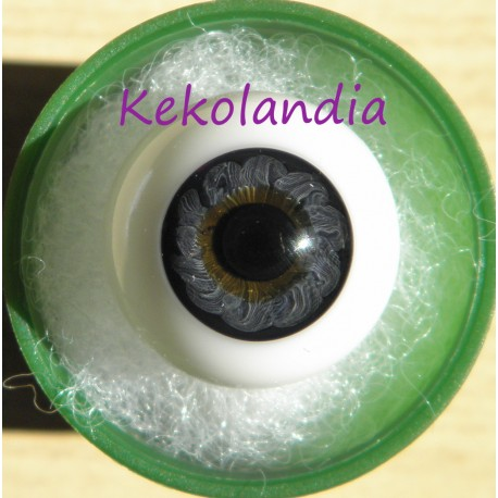 Ojos cristal bola Iris Normal - Azul Oscuro