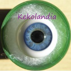Ojos cristal bola Iris Normal - Azul