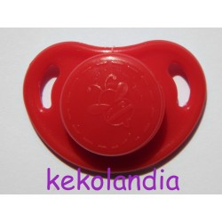 Pacifier Reborn Baby - Red