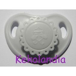 Pacifier Reborn Baby - light grey