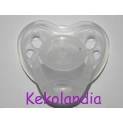 Chupete para bebé reborn - Transparente