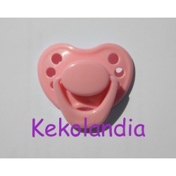 Pacifier Reborn Baby - Pink chewing gum