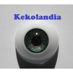 Ojos- Bosque Verde-18mm