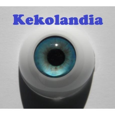 Ojos- Azul Primavera -18mm