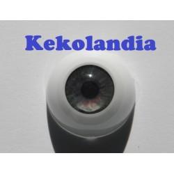 Ojos- Verde gris -20mm