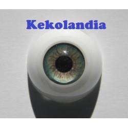 Ojos- Verde Prado -20mm