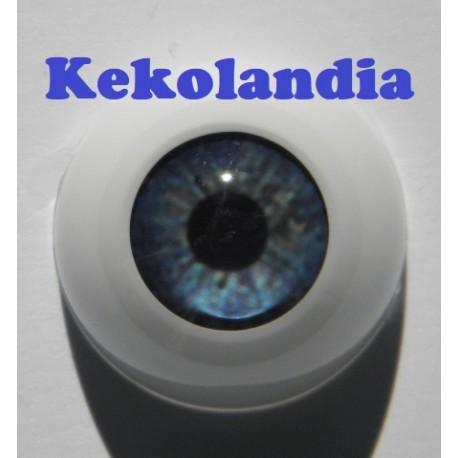 Ojos- Tormanta Azul -18mm