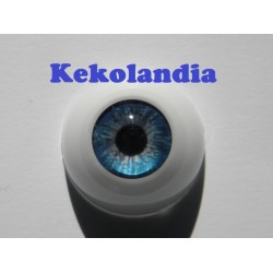 Ojos- Azul Zafiro -22mm
