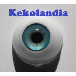 Ojos- Azul Primavera -22mm