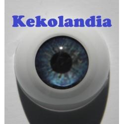 Ojos- Tormenta Azul -22mm