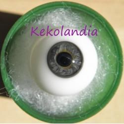 Ojos cristal bola Iris pequeño - Gris - 18 mm