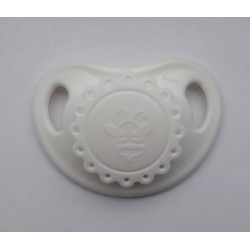 Pacifier Reborn Baby - white
