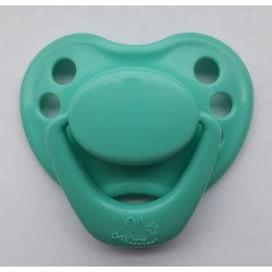 Chupete para bebé reborn - Verde agua