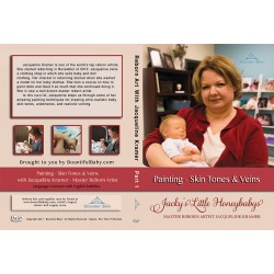 DVD Jacqueline Kramer - Part 1 Painting- Skin Tones & Veins