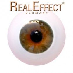 Glass Eyes Ballon - Gold-22mm