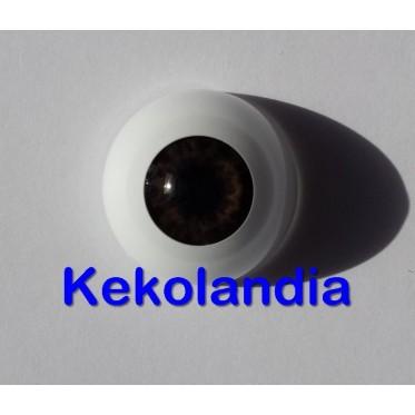 Ojos - Marrón Chocolate - 18 mm