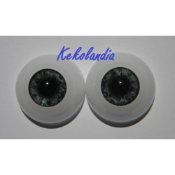 Eyes - Dark Blue - 22mm
