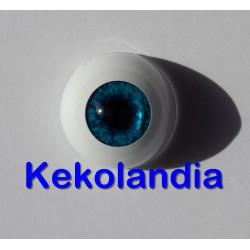 Ojos- Azul atardecer - 18mm