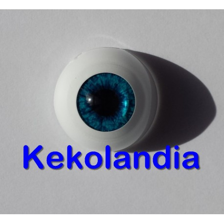 Eyes - Dark Blue Dusk  -18mm