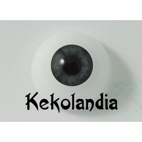 Ojos- Gris Medianoche - 20mm