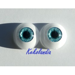 Eyes - Light Blue -20mm