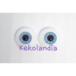 Eyes - Old Faschion Blue -20mm