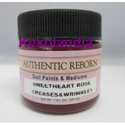 Premixed Color Sweetheart Rose Creases & Wrinkles