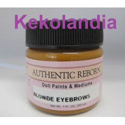 Premixed Color Blonde Eyebrows