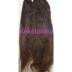 Castaño Oscuro Liso-Kekolandia