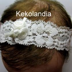 Headband - Kekolandia - White  K7
