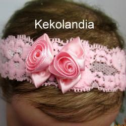 Diadema Kekolandia - Rosa - Modelo K21