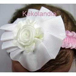 Diadema Kekolandia - Blanca - Modelo K1