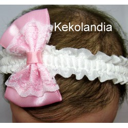 Headband - Kekolandia - Cream  K8