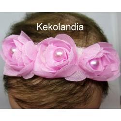 Diadema Kekolandia - Rosa - Modelo K10
