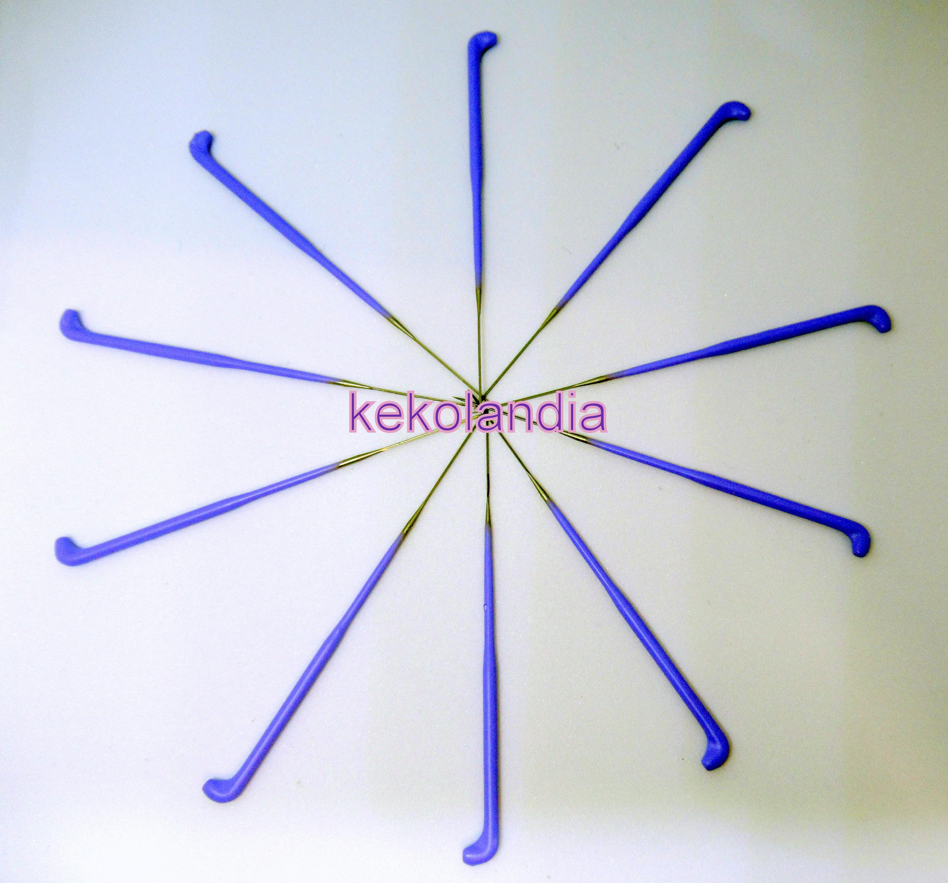 42 Gauge 3 Barb Rooting//Felting Needles ~ 10 Needles ~ Reborn Doll Supplies