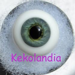 Ojos Cristal Bola  - Verde