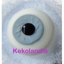 Glass Eyes Ballon -Ice Blue