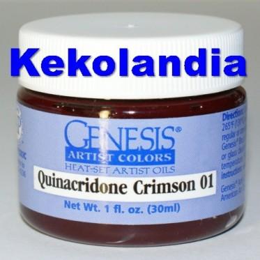 Quinacridone Crimson 01