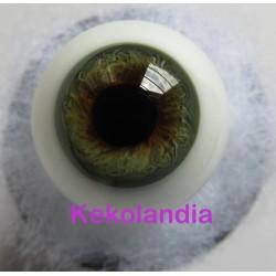 Ojos Cristal Bola  - Gris
