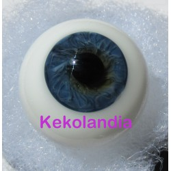 Glass Eyes Ballon - Blue